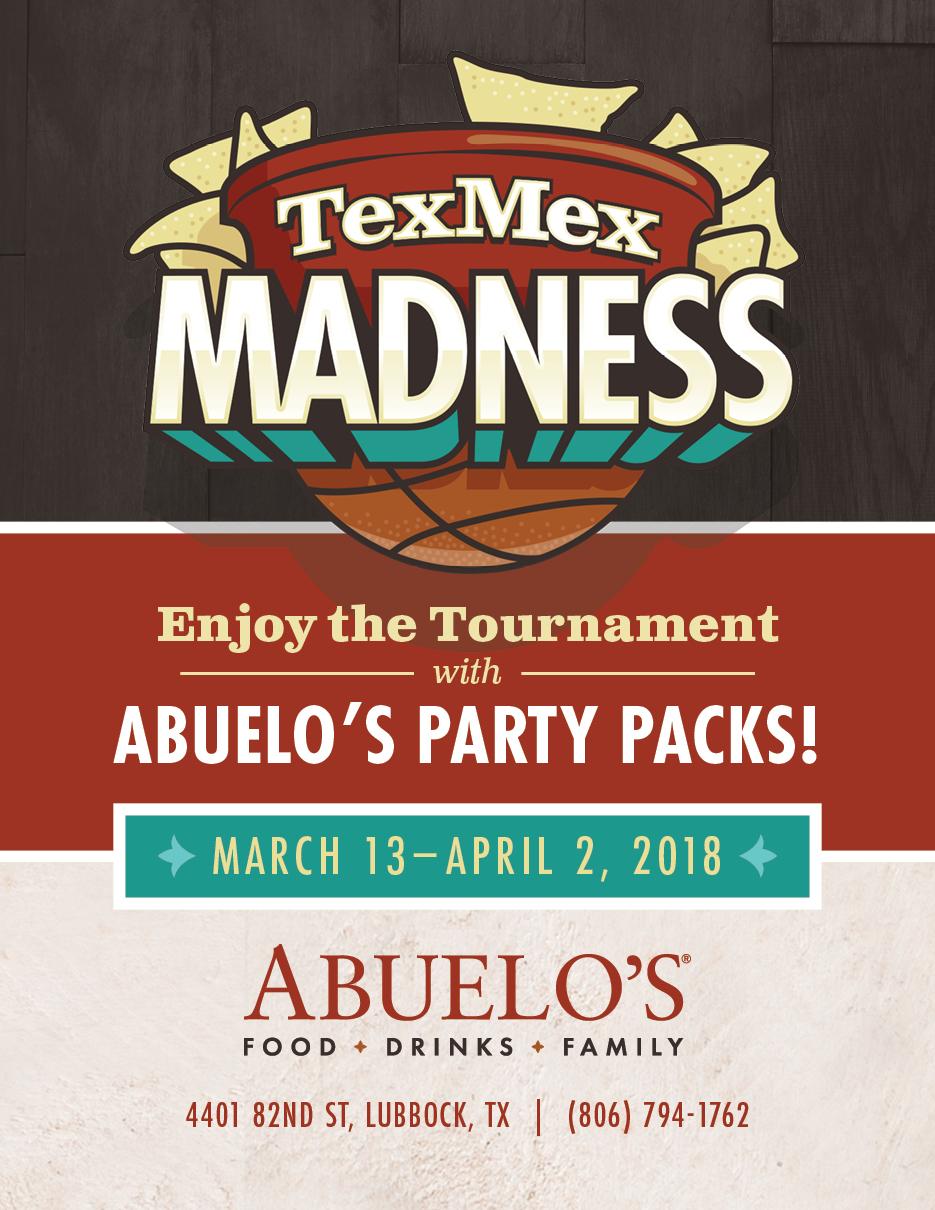 Abuelos TexMex Madness Check Presenter