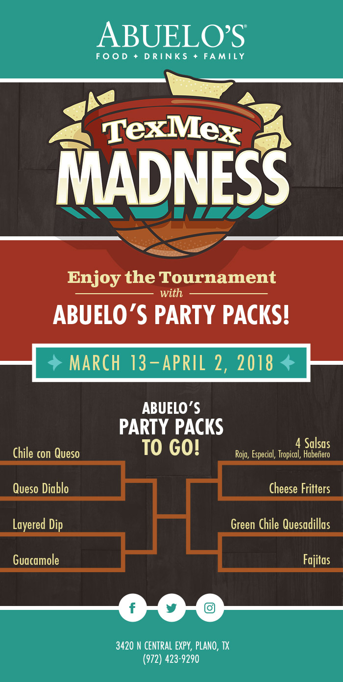 Abuelos TexMex Madness email