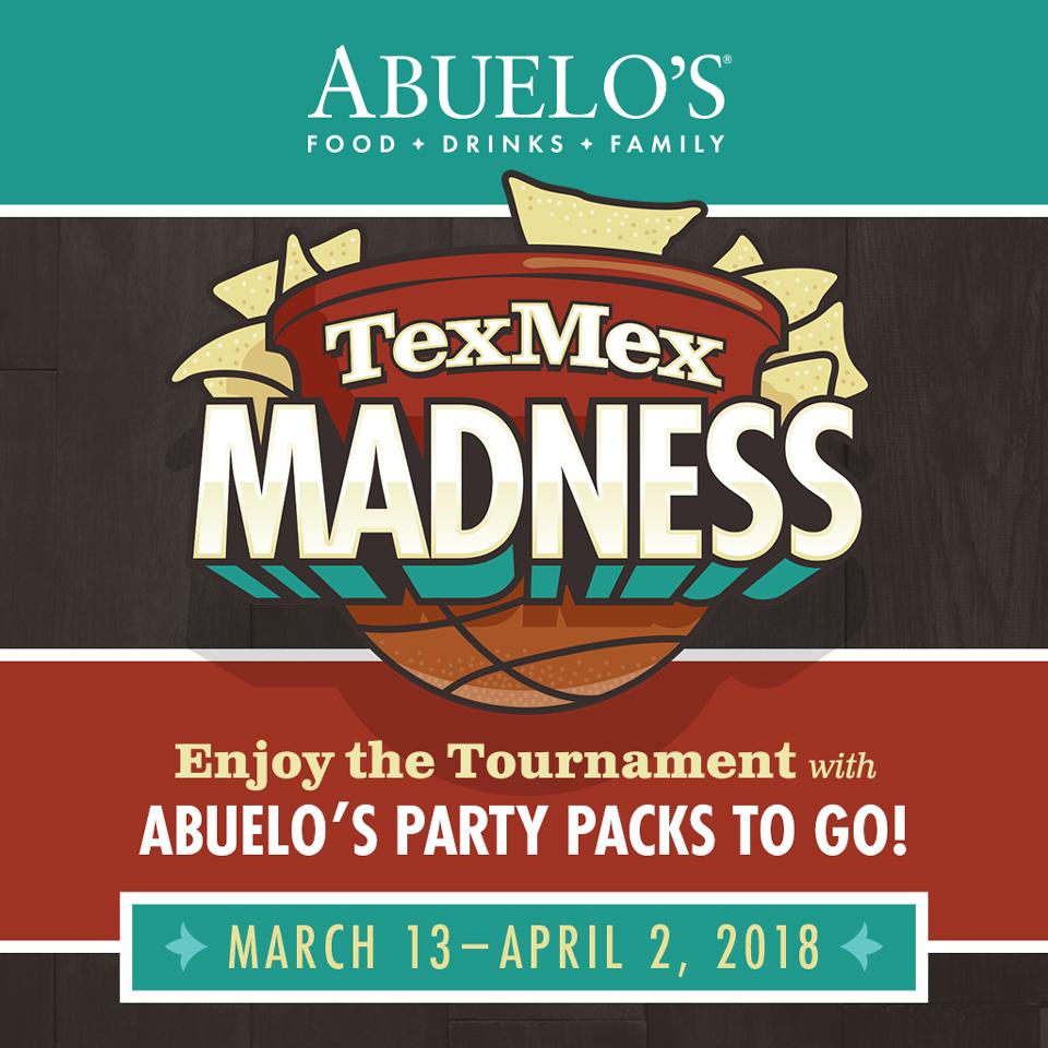 Abuelos TexMex Madness social media post